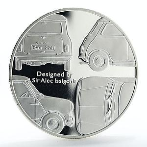 Alderney 5 pounds Mini Designed by Sir Alec Issigonis proof silver coin 2009