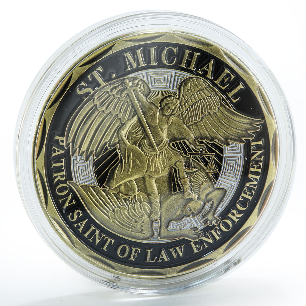 Archangel Michael the Holy Order of Law Police Officer's token