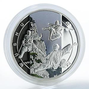 Armenia 1000 drams art of fighting Wushu chinese martial art coin 2011