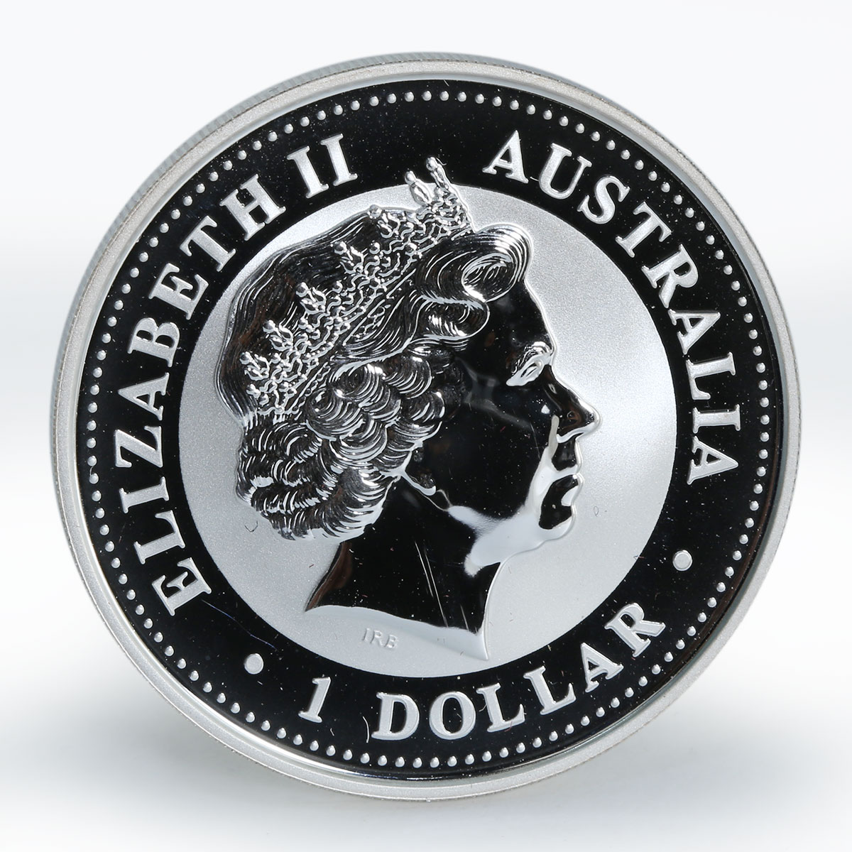 Australia $1 Year of the Monkey Lunar Series I 1 Oz Silver coin 2004