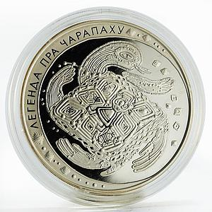 Belarus 20 rubles Legend of Tortoise proof silver coin 2010