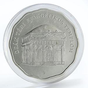 Hungary 5000 forint Lutheran Church of Budapest silver coin 2011