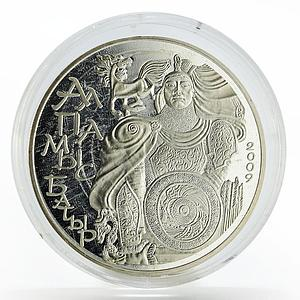 Kazakhstan 500 tenge Legends Alpamys Batyr proof silver coin 2009