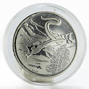 Switzerland 20 francs White Snake Queen silver coin 1995