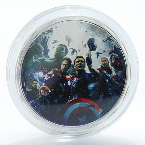 Avengers Age of Ultron Artificial Intelligence Marvel Comics Superhero token