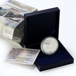Spain 10 euro Museum - Tiziano proof silver coin 2013