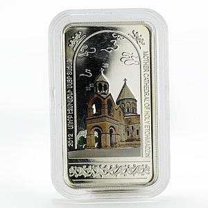 Armenia 1000 dram Mother Cathedral of Holy Etchmiadzin silver coin 2012