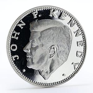 Paraguay 150 guaranies John F. Kennedy president proof silver coin 1974