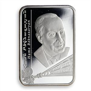 Armenia 100 drams Hamo Beknazaryan 125th Birth Anniversary coloured silver 2017