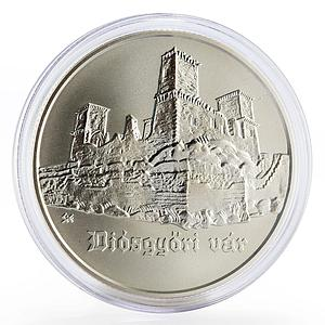 Hungary 5000 forint Diosgyor Castle silver coin 2005