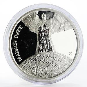 Hungary 3000 forint Imre Madach's The Tragedy of Man proof silver coin 2012