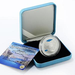 Tajikistan 100 somoni Launch of Rogun HPP silver proof coin 2018
