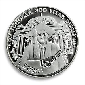 Bulgaria 10 Leva Higher Education Silver Proof Coin 2001