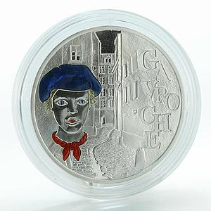 France 1 1/2 Euro Victor Hugo proof silver coin 2002