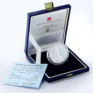 Croatia 150 kuna 100th Anniversary of Aviation in Croatia silver proof coin 2010