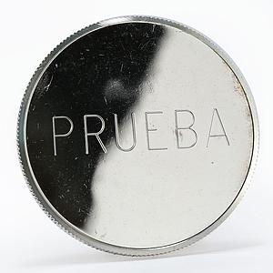 Equatorial Guinea 2000 bipkwele King of Spain Visit prueba coin 1979