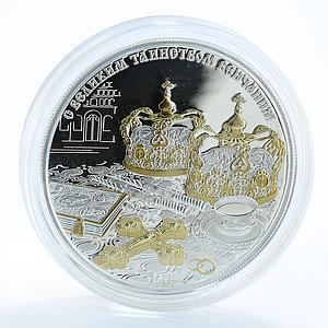 Congo 1000 francs Church sacrament wedding mystery ceremony silver coin 2011