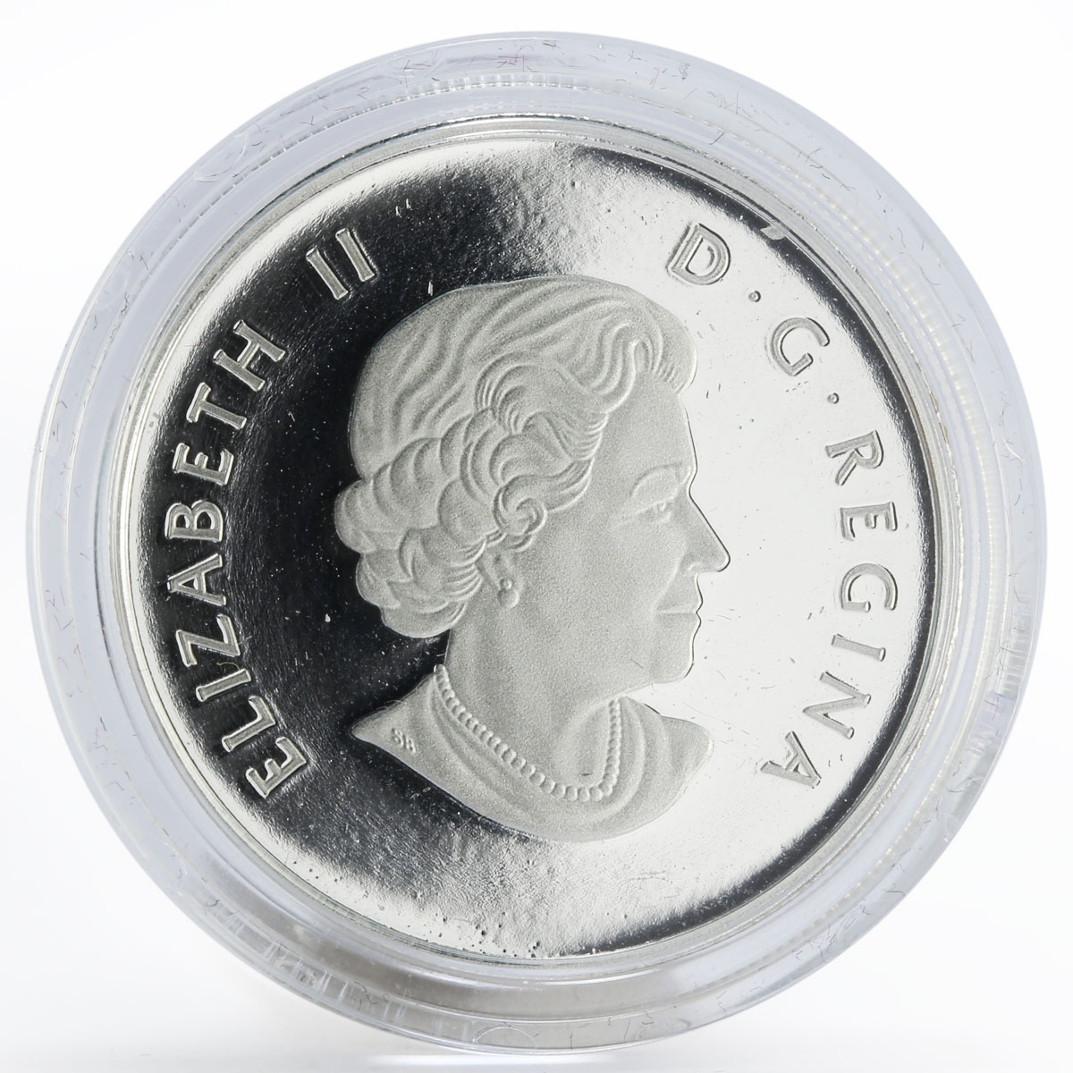 Canada 4 dollars Welcome to the World proof silver coin 2011