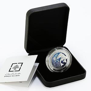 Lebanon 5 livres Zodiac Signs Pisces colored proof silver coin 2013