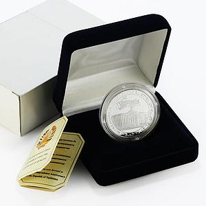 Tajikistan 5 somoni XVth Anniversary of Independence proof silver coin 2006