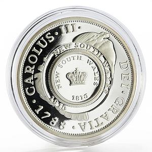 Australia 1 dollar 200 Years Since the Holey Dollar and Dump silver coin 2013