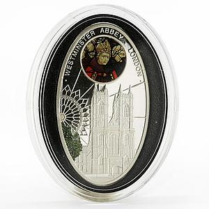 Niue 1 dollar Gothic Cathedrals series Westminster Cathedral silver coin 2010