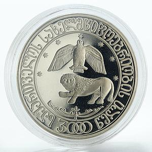 Georgia 10 lari 3000 years Georgian statehood cupro-nickel coin 2000