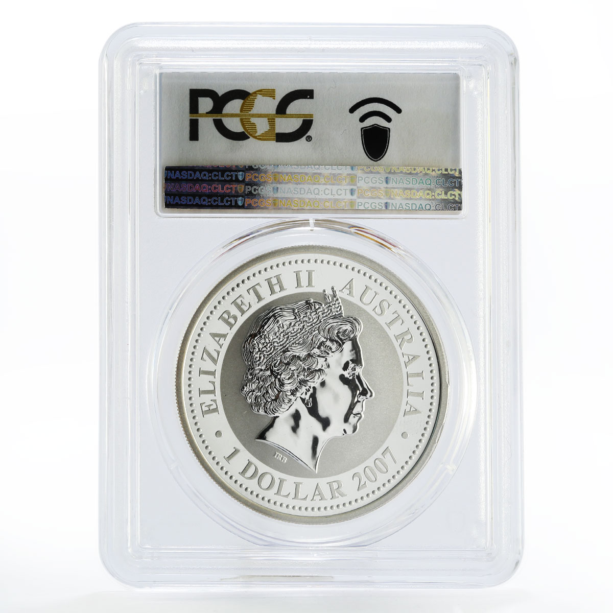 Australia 1 dollar Year of the Mouse MS70 PCGS silver coin 2007