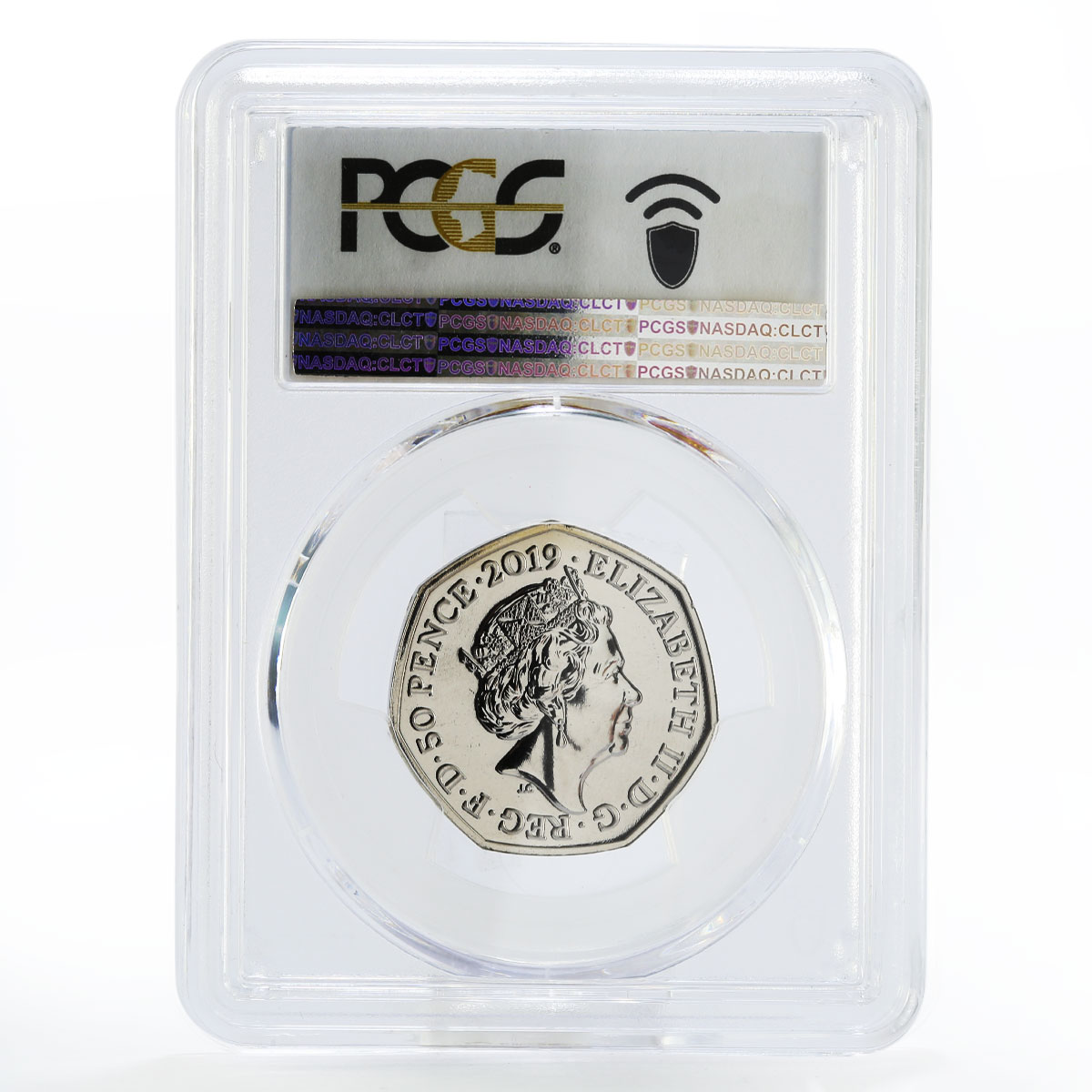 Britain 50 pence 250 Years of Kew Gardens MS67 PCGS reissued nickel coin 2019