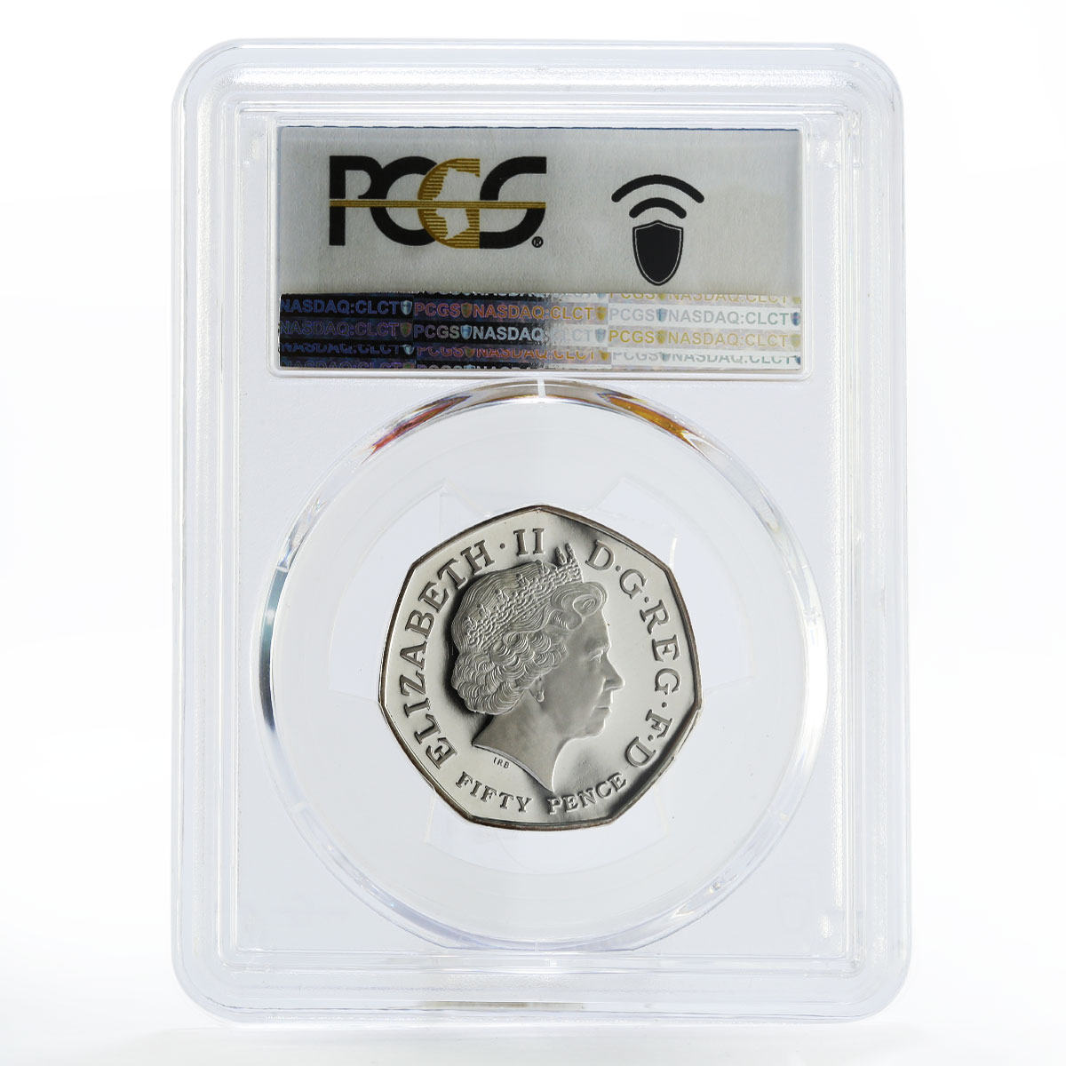 Britain 50 pence 250 Years of Kew Gardens PR67 PCGS piedfort silver coin 2009