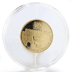 France 50 euro Castle of Versailles UNESCO World Heritage gold coin 2011