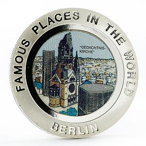Equatorial Guinea 7000 francos Best World Places series Berlin silver coin 1994
