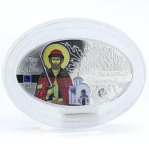Macedonia 100 denari Angels Day Dmitry proof silver coin 2015