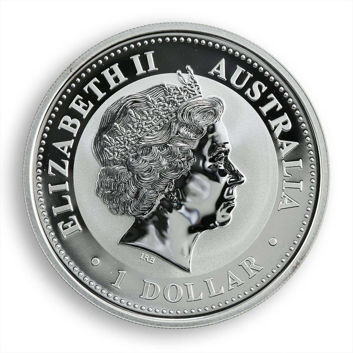 Australia 1 dollar Year of The Goat Lunar Series I 1 oz Silver Coin 2003