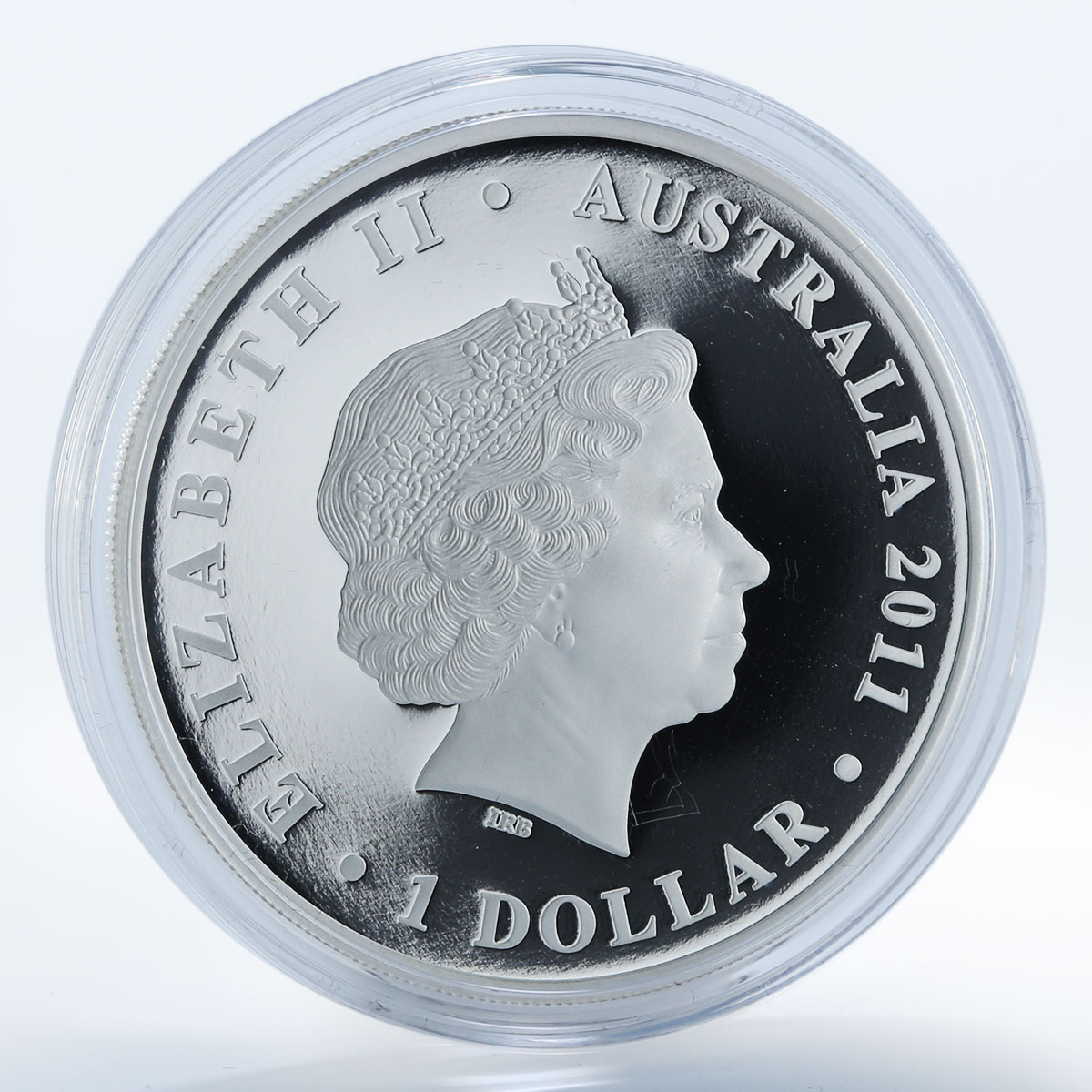 Australia 1 dollar Dame Nellie Melba 1861-1931 colored silver proof coin 2011