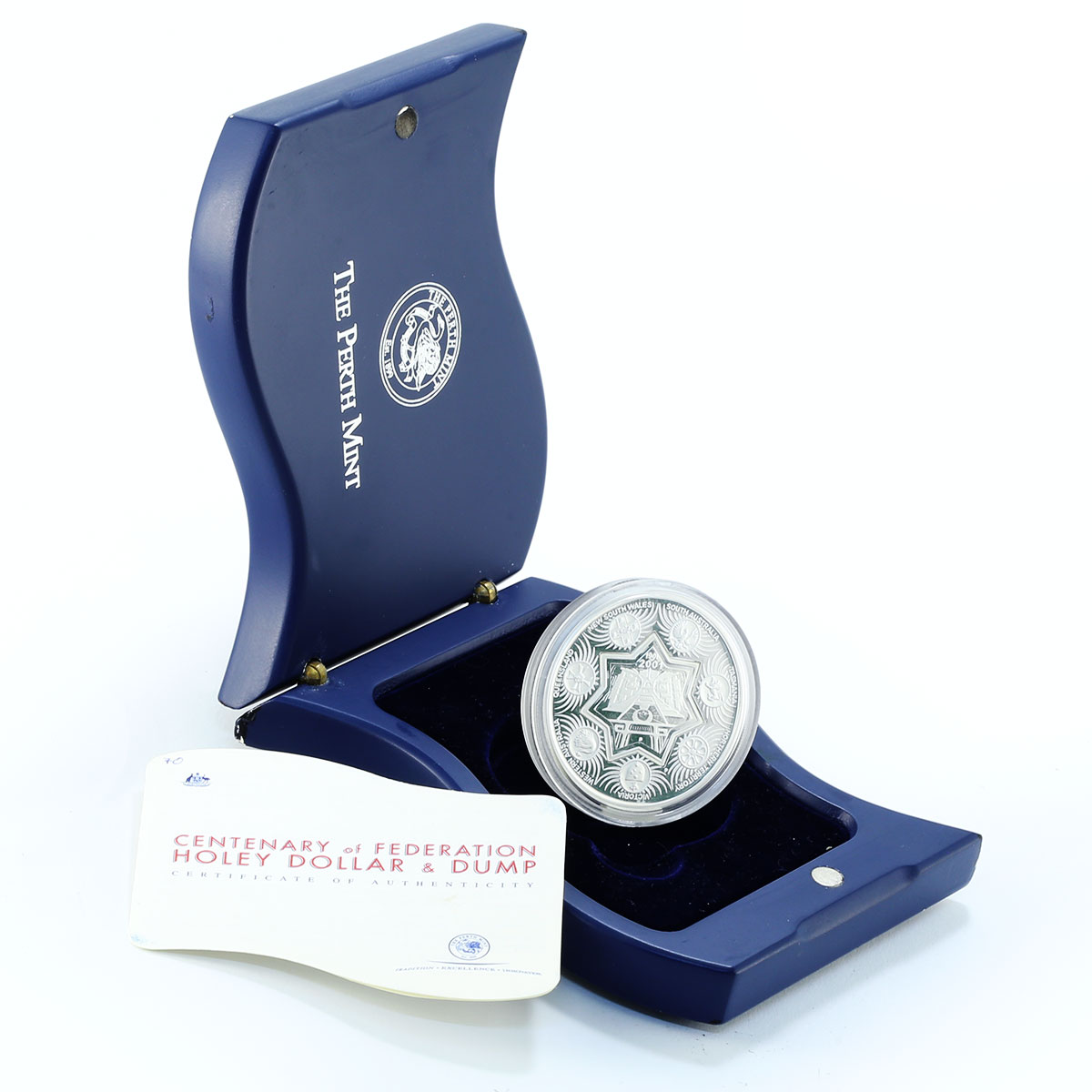 Australia 1.25 dollars Centenary of Federation proof silver coin 2001