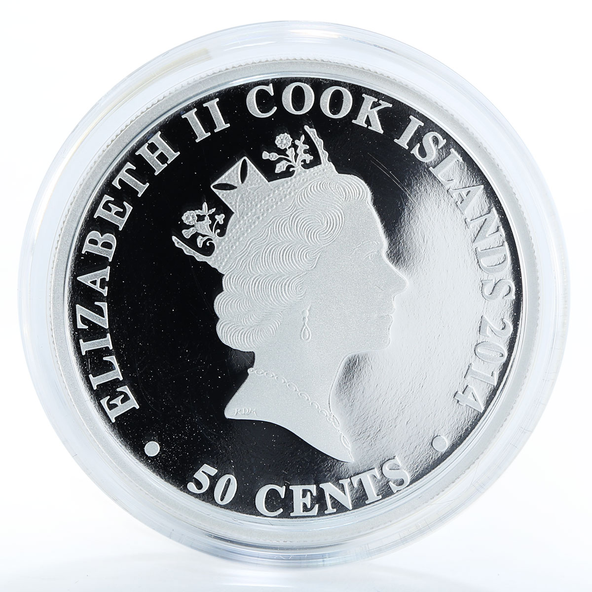 Cook Island 50 Cents Year of the Horse Baby Holiday Pony Silver Coin 2014