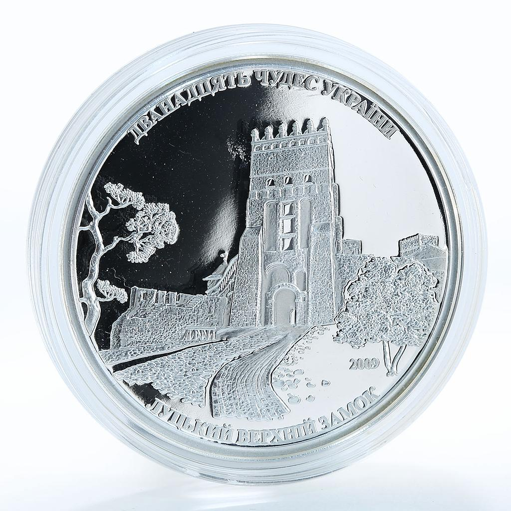 Cook Islands 5 Dollars Upper Castle of Lutsk Lubart's Castle 2009 Silver coin