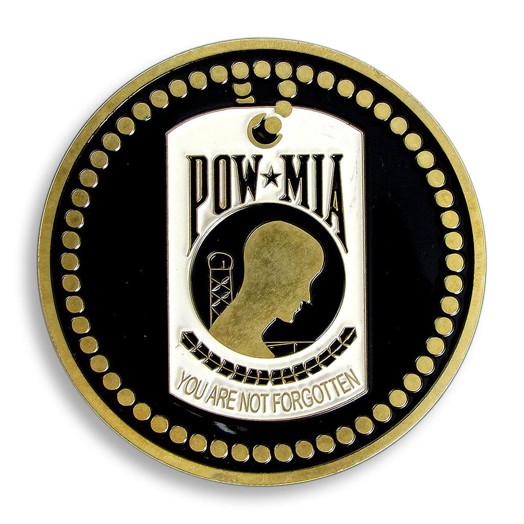 US Army, Militarty, Eagle, POW/MIA, Medal, War, NAVY, HONOR, Soldiers, Souvenir