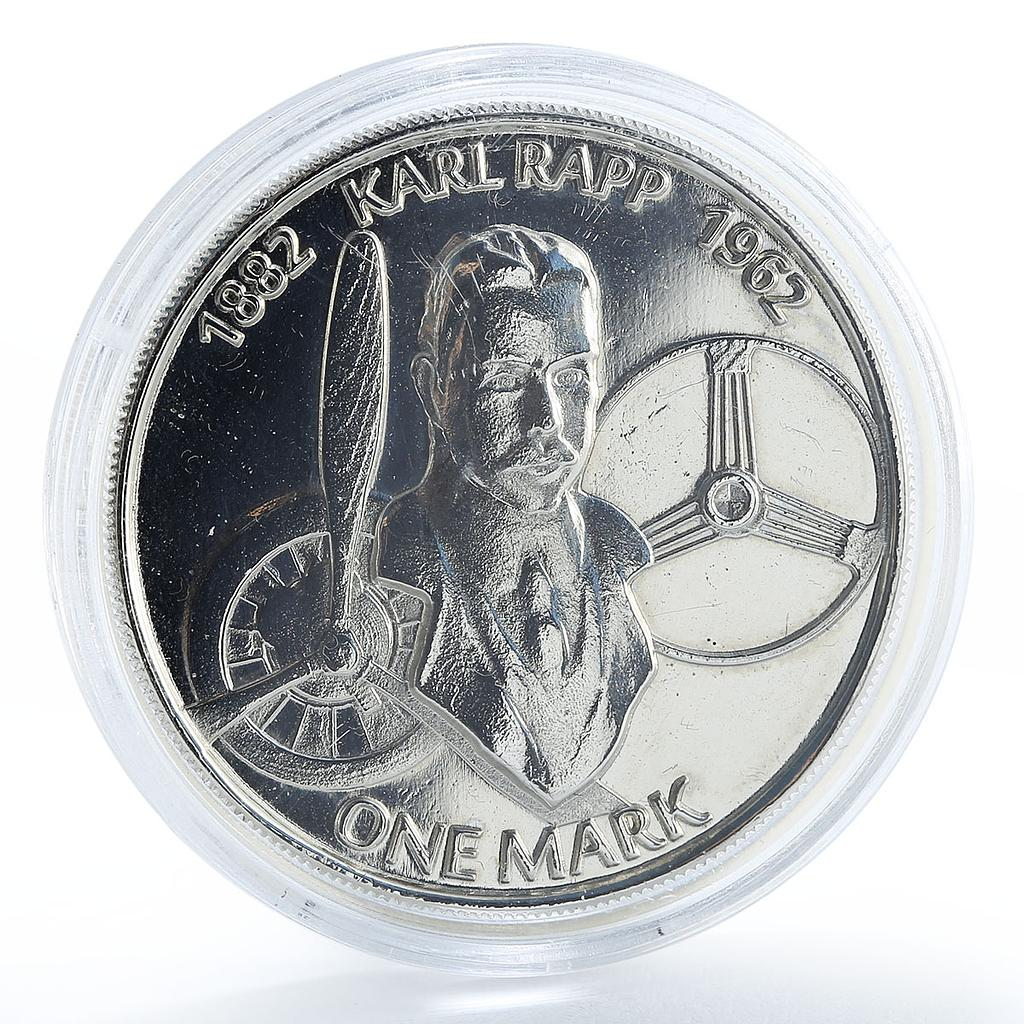 100th anniversary of the founding companies BMW, Karl Rapp, token coin